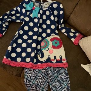 Toddler girls Rare exd outfit size 5